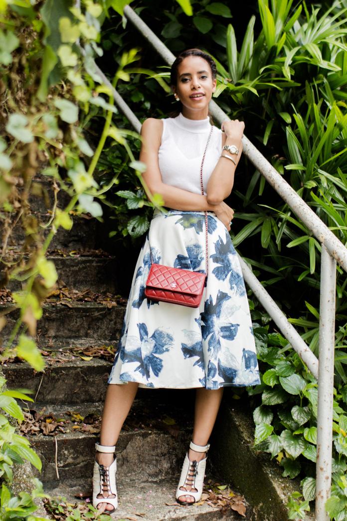 Nadya Flower Skirt 22